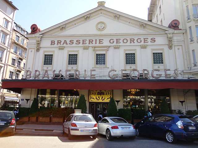 A mais famosa brasserie de Lyon.