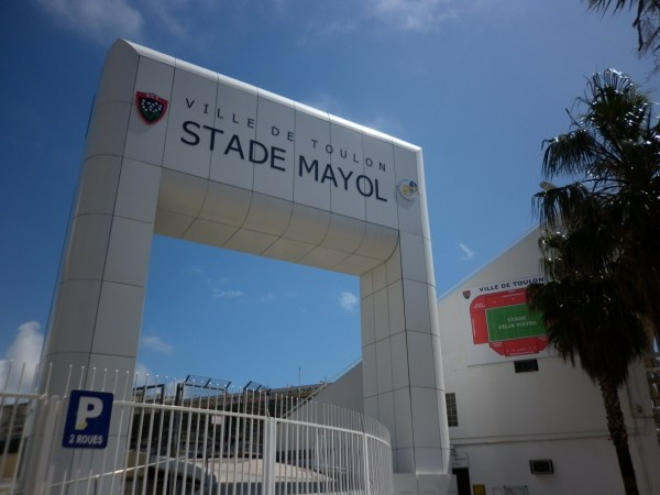 Estádio do time RCT de Toulon.