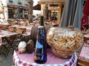 Restaurante típido da gastronomia de Lyon.