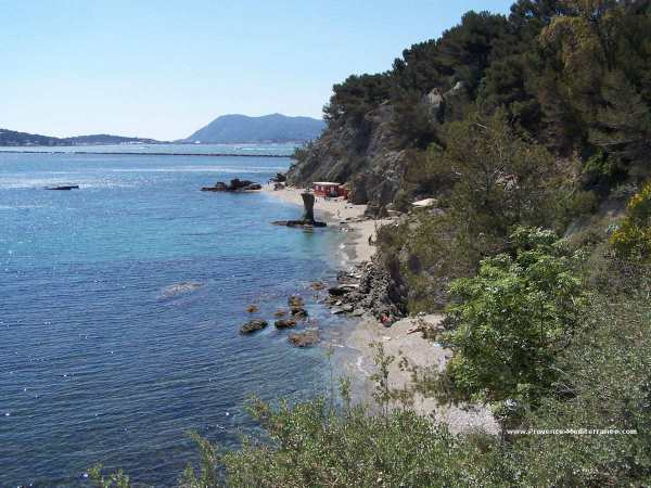 Praias de Toulon.