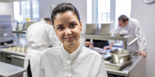 Representante feminina da gastronomia de Lyon.
