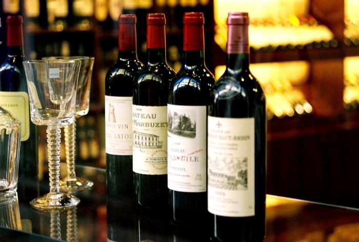 Os diferentes tipos de vinhos franceses