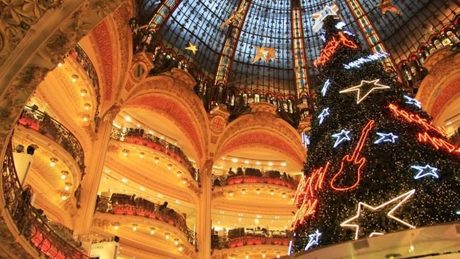 Árvore de Natal Galerie Lafayette