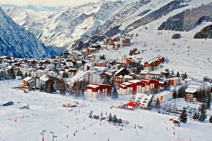 esquiar na França - Pixabay