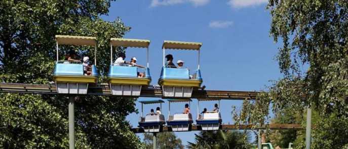 O que fazer nas férias de janeiro com as crianças pela França, Touroparc Zoo