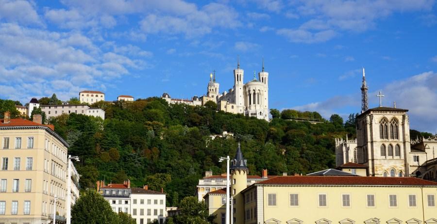 Vistas panorâmicas da França, Notre Dame de Fourvière