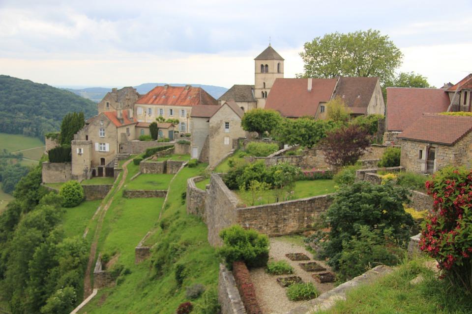 França Jurássica, vilarejo Medieval