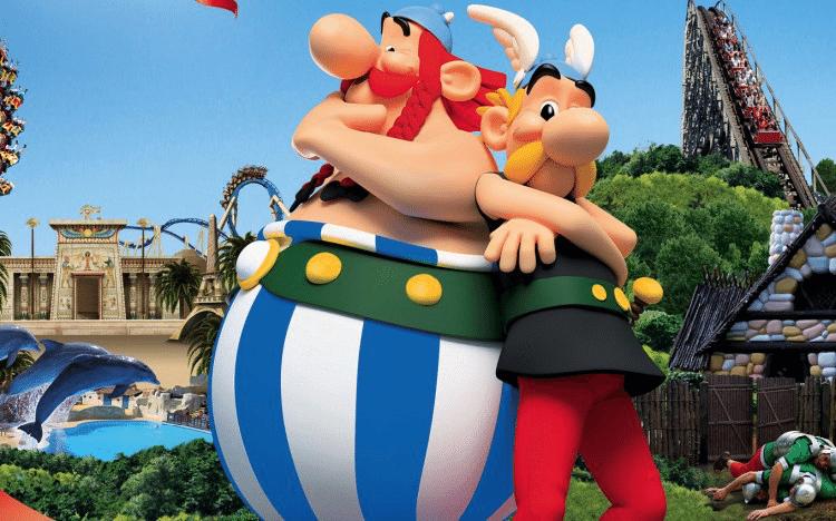 O que fazer em Paris com as crianças, Parque Asterix