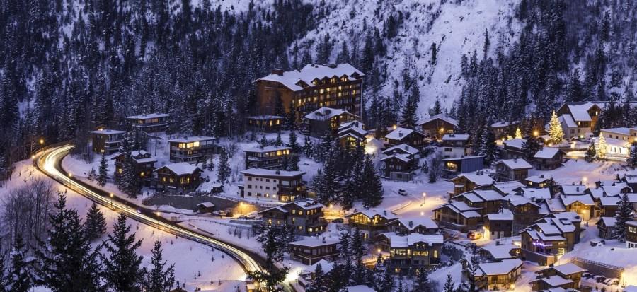 Courchevel, a estação de esqui mais badalada da França