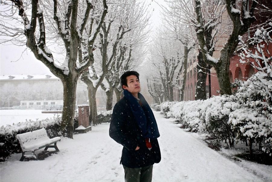 Inverno em Toulouse, França
