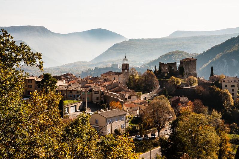 Gréolières, uma das aldeias medievais mais charmosas da França
