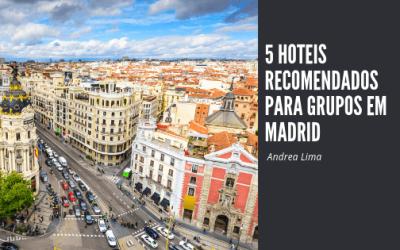 Hotéis  para grupos em Madri