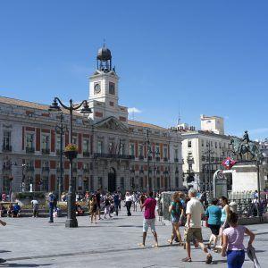 Reloj de la Puerta del Sol de Madrid