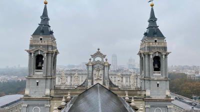 Vista panoramica Catedral de Almudena