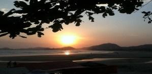 por do sol Hotéis em Guarujá