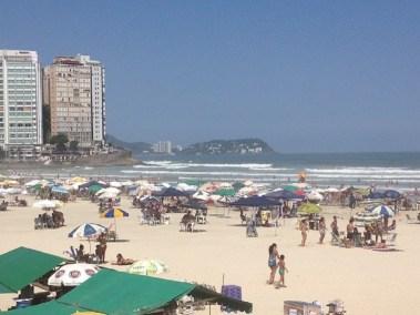 Praia de Pitangueiras em Guaruja - Praias do Guaruja