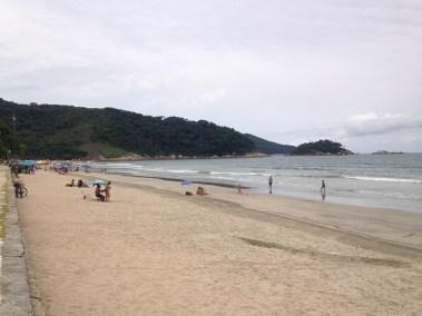 Praia do Guaiuba em Guaruja - Praias