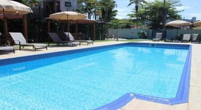Piscina do Ilhas do Caribe Hotel Enseada Guaruja