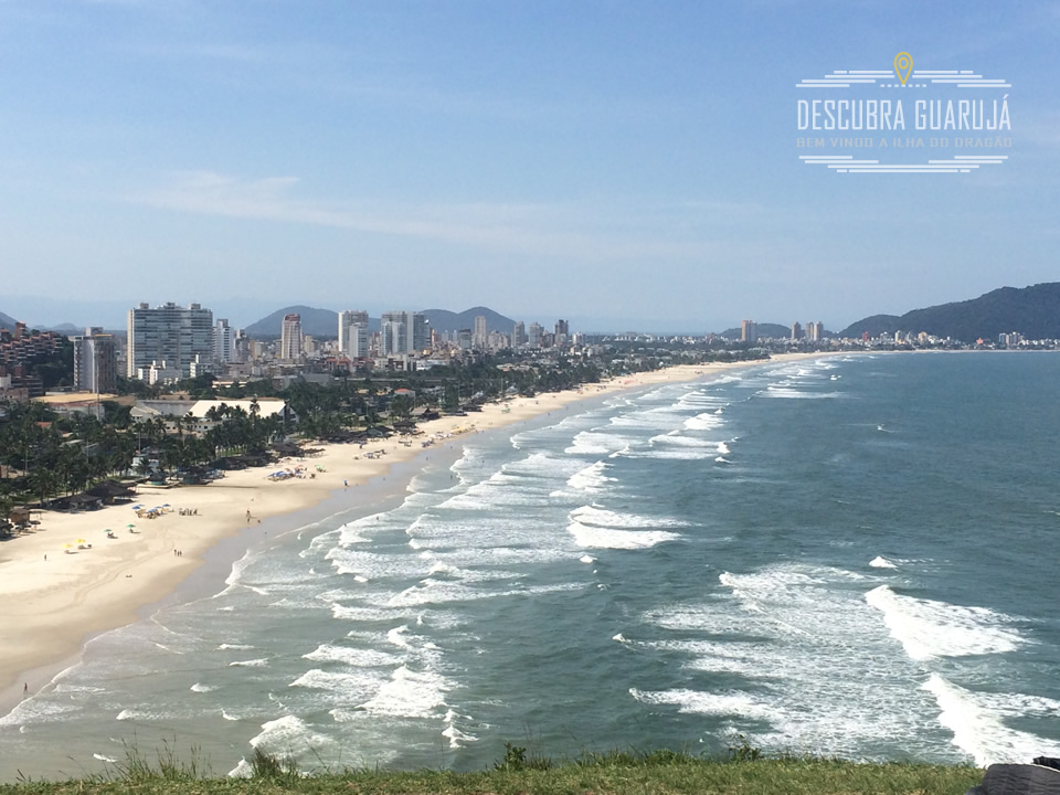Praia da Enseada Guaruja SP Vista Morro do Maluf