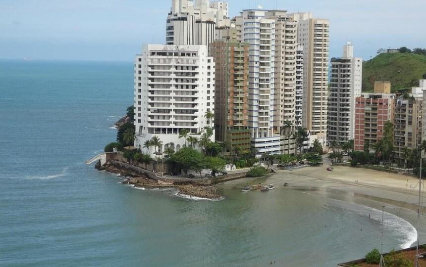 Apartamento Astúrias no Guarujá
