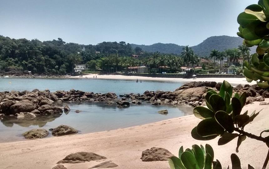 Canto Prainha na Praia de Conchas em Guarujá