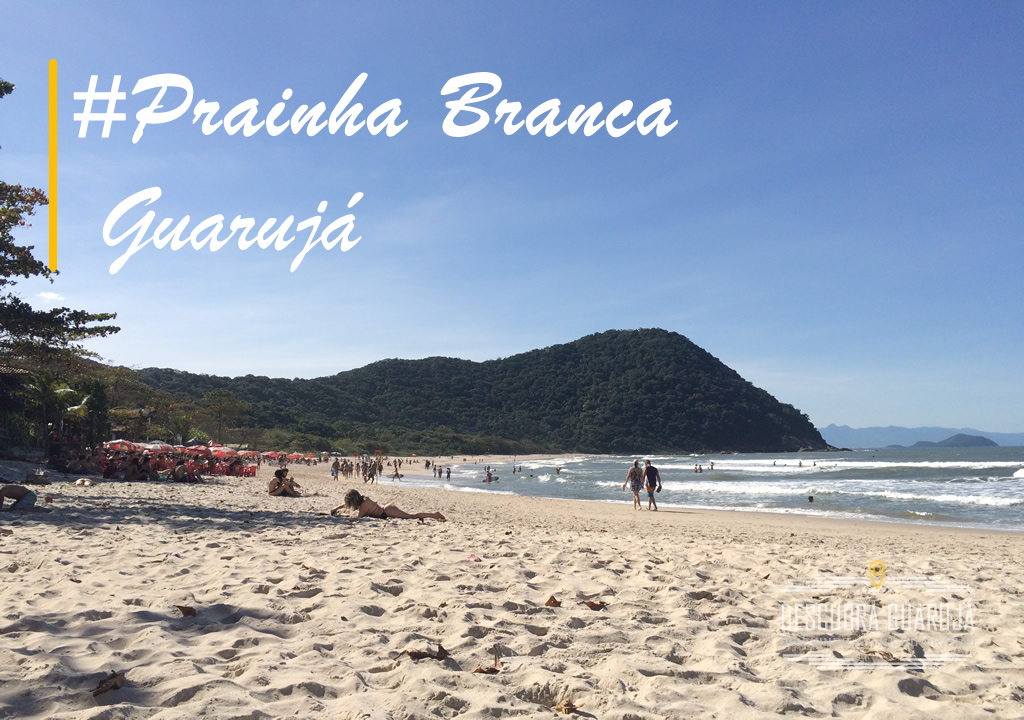 Prainha branca Guarujá SP