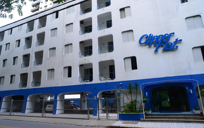 Hotel Clipper Flats - Astúrias - Guarujá