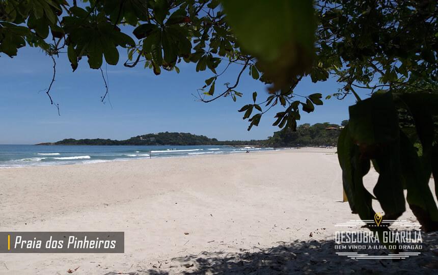 Praia dos Pinheiros Guarujá Litoral Paulista