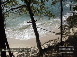 Belissima foto do Mar da Praia do Eden