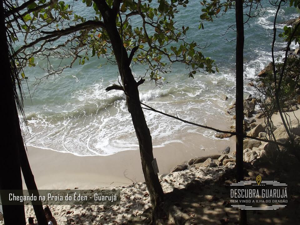 Belíssima foto do Mar da Praia do Éden - Guarujá