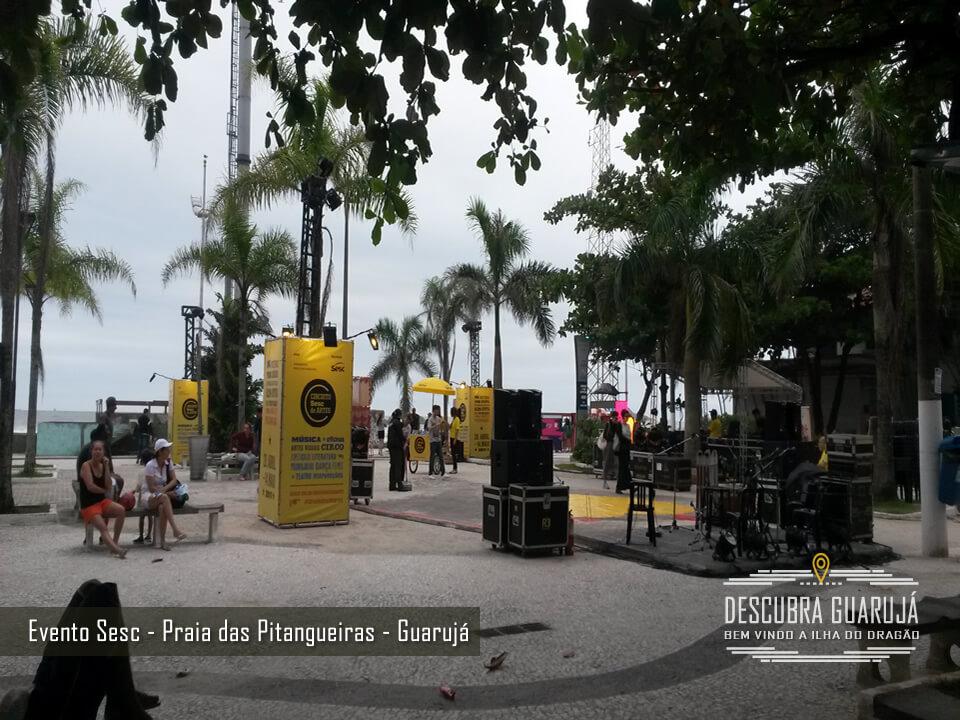 Evento Sesc - Praia das Pitangueiras - Guarujá SP