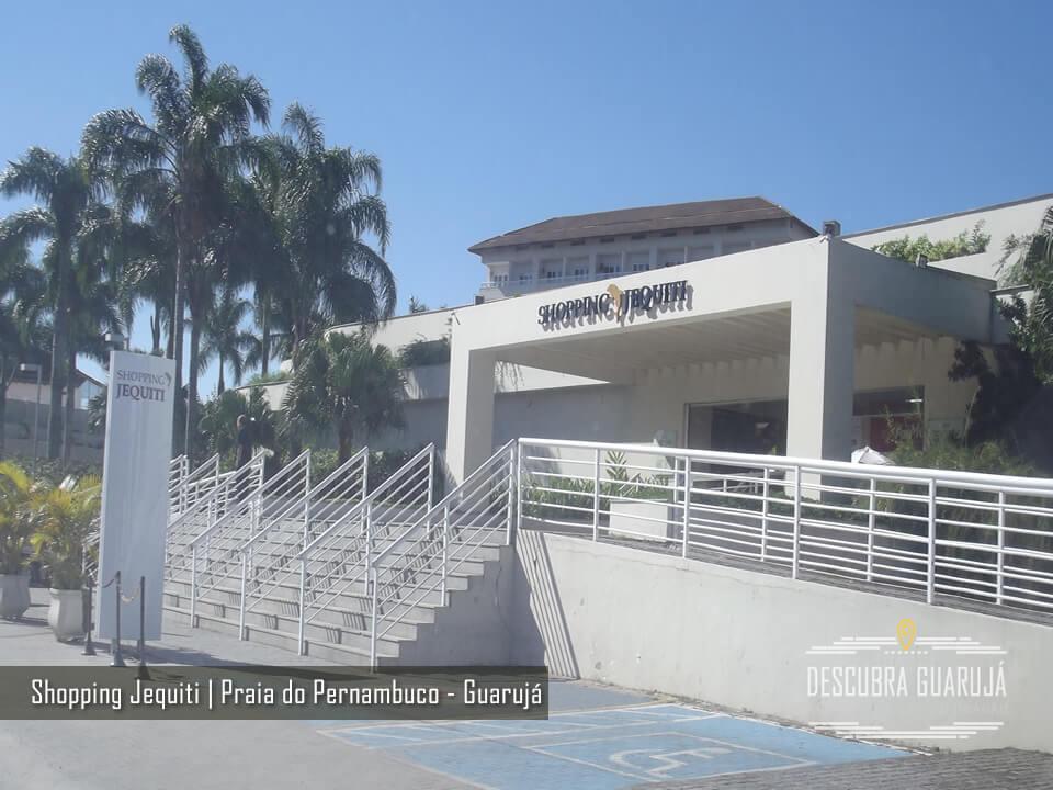 Portaria do Shopping Jequiti - Praia de Pernambuco - Guaruja SP