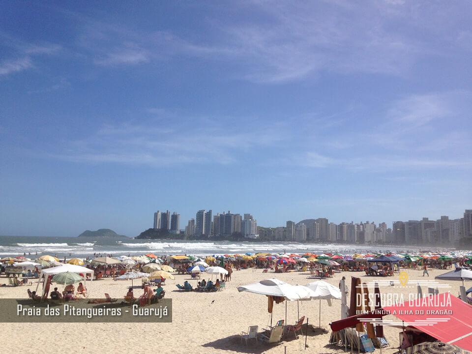 Praia das Pitangueiras Guaruja SP