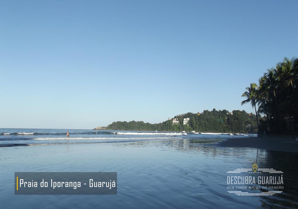 Praia de Iporanga Guarujá SP