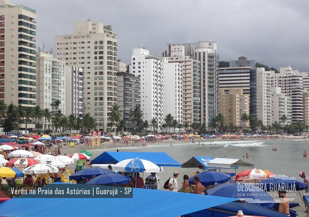 Praias do Guarujá - Praia da Astúrias