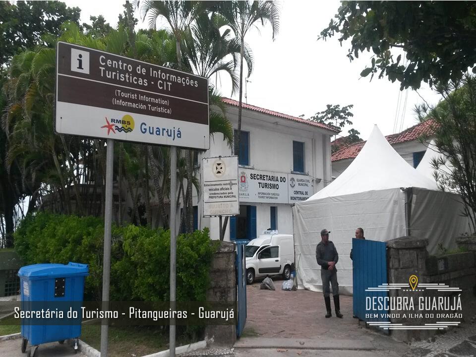 Secretaria do Turismo Guarujá - praia de Pitangueiras
