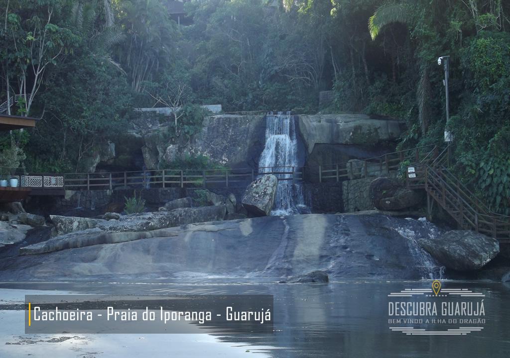Vista Cachoeira da Praia de Iporanga