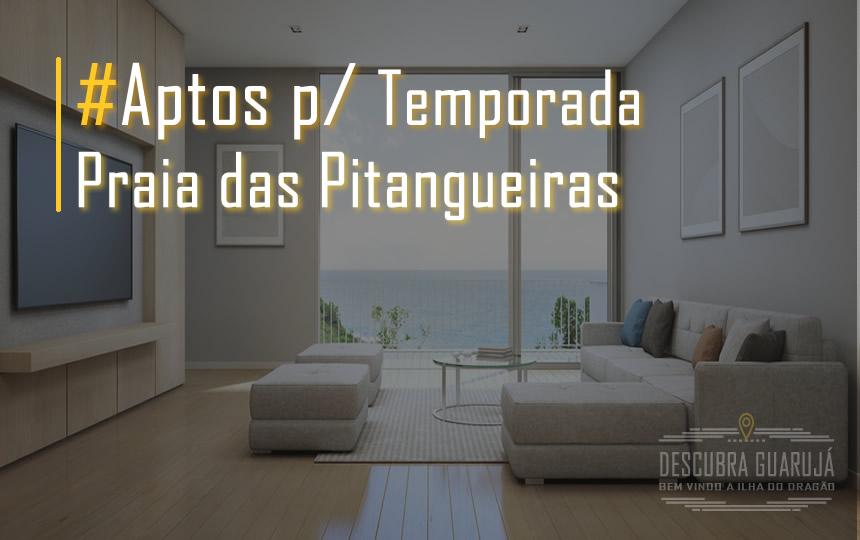 Apartamentos Temporada Pitangueiras Guarujá