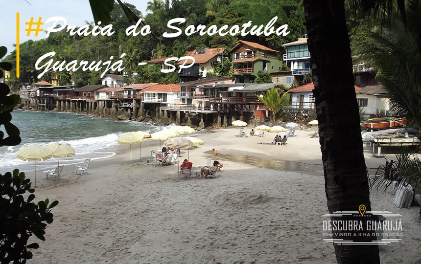 Praia do Sorocotuba Guarujá