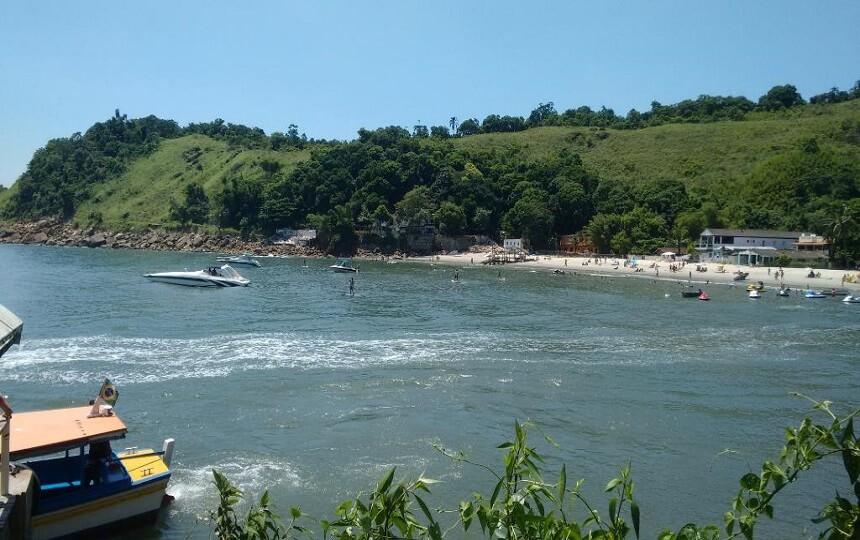 Praia do Goes Guarujá