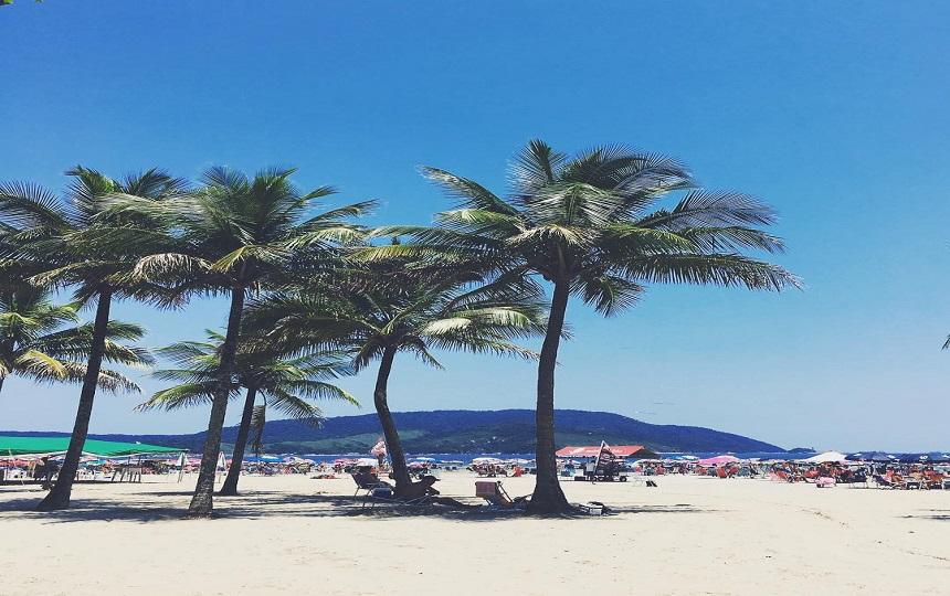Praia de Santos - Baixada Santista Litoral SP