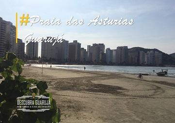 Praia das Astúrias Guarujá - sp