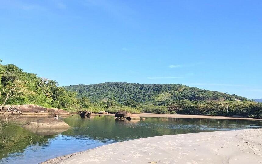 Canto da Praia de Itamambuca
