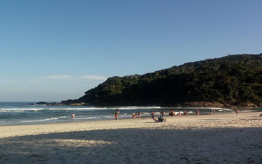 Praia de Itamambuca - Ubatuba SP