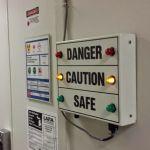 Señal de peligro controlada por Bluetooth y Arduino