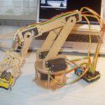 robot-arm-150x150 Controla la cabeza de tu robot con Arduino
