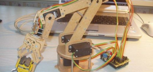 robot arm - Hazte tu propio brazo robot en casa