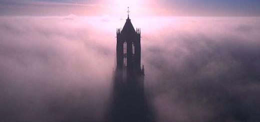 catedral - La catedral mas alta de Holanda desde un Drone