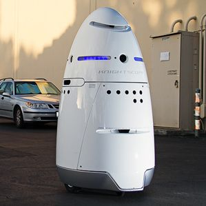 knightscopex - Un robot guardia de seguridad