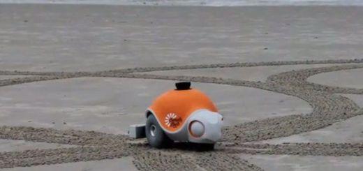 BeachBot un robot para la playa de la mano de Disney